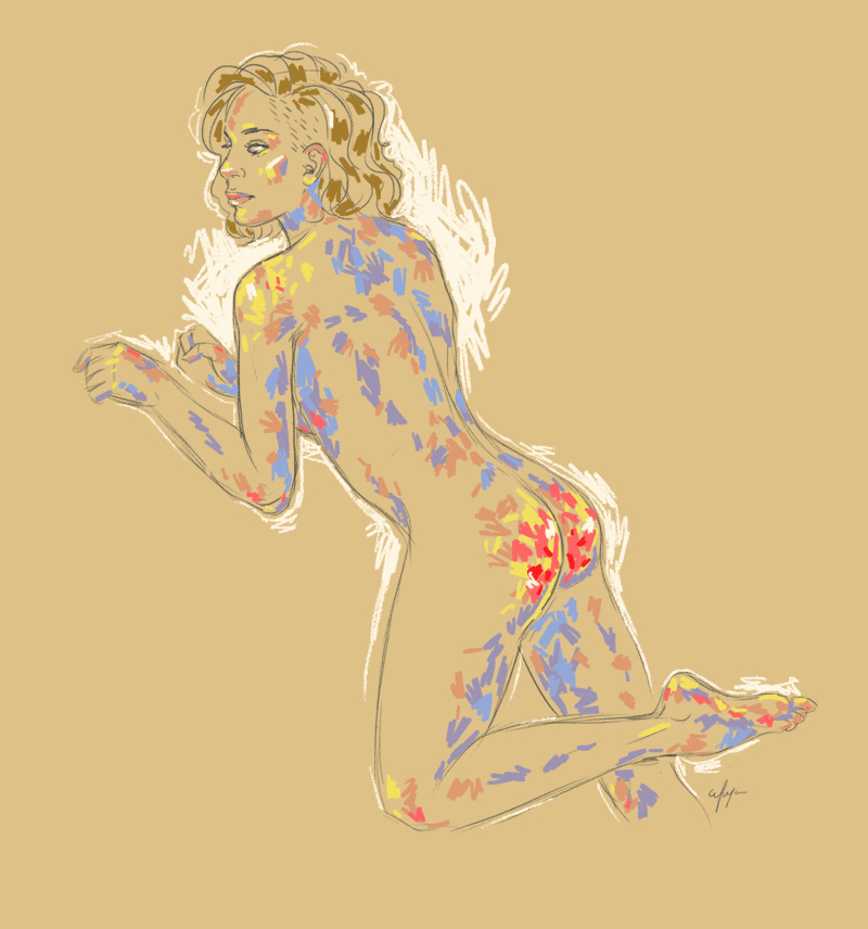 Rainbow Girl 2 by Tina Mailhot-Roberge (vervex)