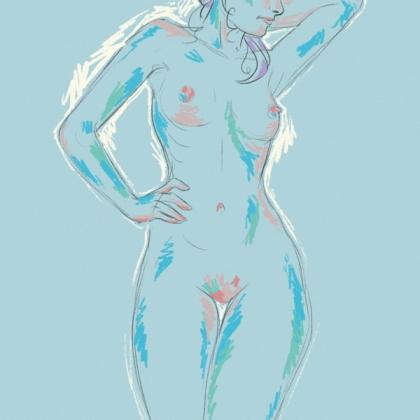 Rainbow Girl 1 by Tina Mailhot-Roberge (vervex)