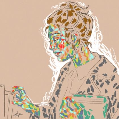 Rainbow Girl 3 by Tina Mailhot-Roberge (vervex)