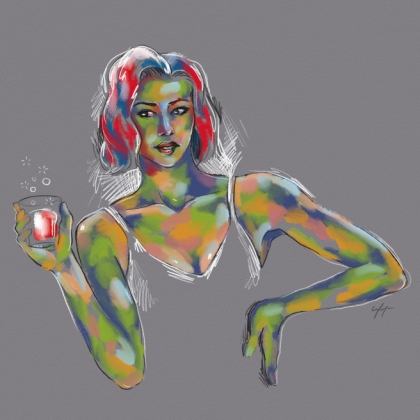 Rainbow Girl 9 by Tina Mailhot-Roberge (vervex)