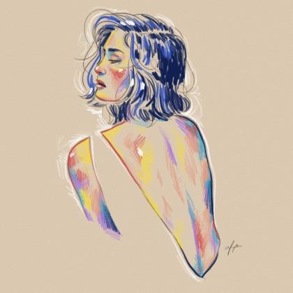 Rainbow Girl 10 by Tina Mailhot-Roberge (vervex)