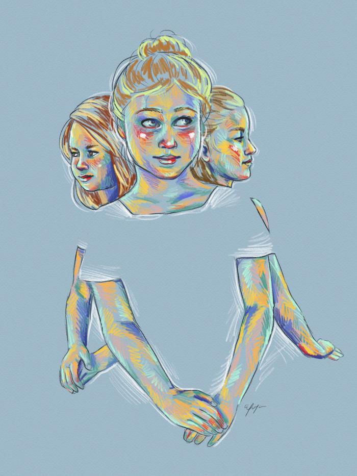 Rainbow Girl 11 by Tina Mailhot-Roberge (vervex)