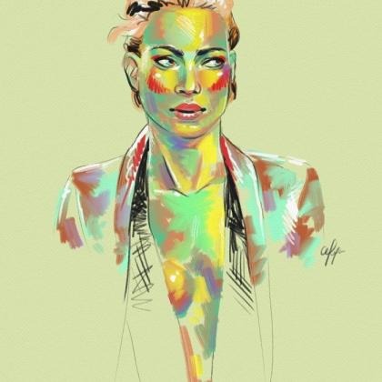 Rainbow Girl 13 by Tina Mailhot-Roberge (vervex)