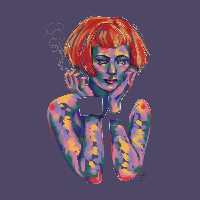Rainbow Girl 14 by Tina Mailhot-Roberge (vervex)