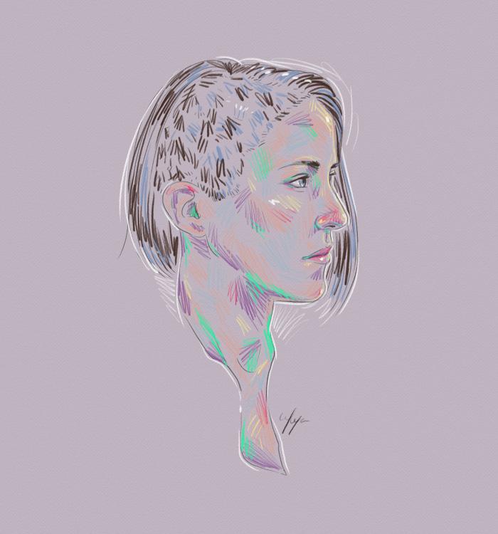 Rainbow Girl 16 by Tina Mailhot-Roberge (vervex)