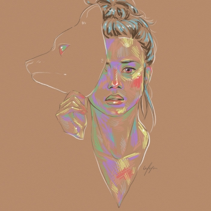 Rainbow Girl 15 by Tina Mailhot-Roberge (vervex)