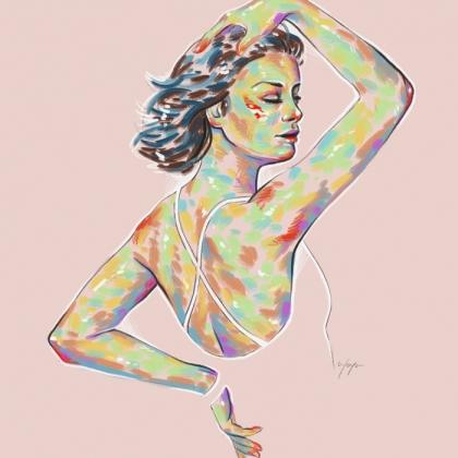 Rainbow Girl 17 by Tina Mailhot-Roberge (vervex)
