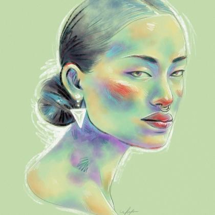Rainbow Girl 19 by Tina Mailhot-Roberge (vervex)