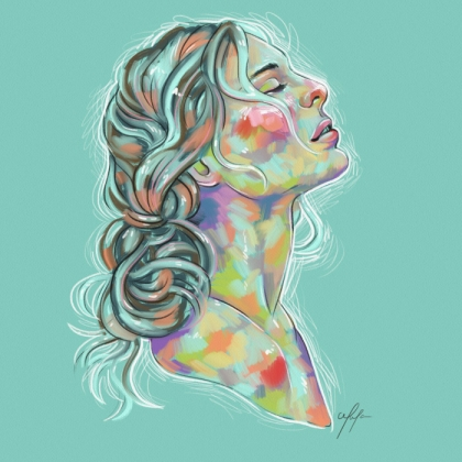 Rainbow Girl 21 by Tina Mailhot-Roberge (vervex)