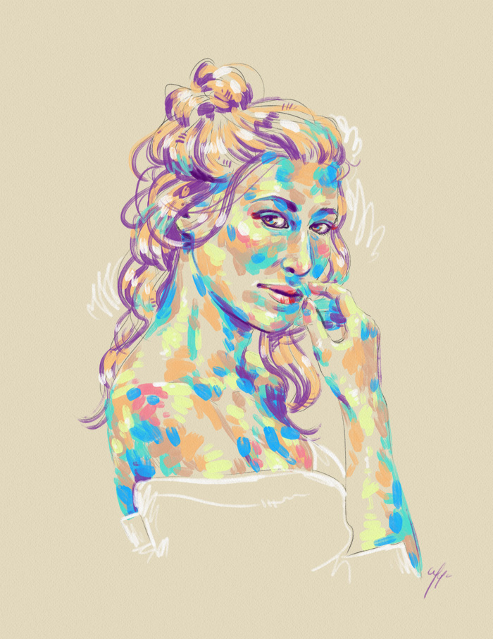 Rainbow Girl 25 by Tina Mailhot-Roberge (vervex)