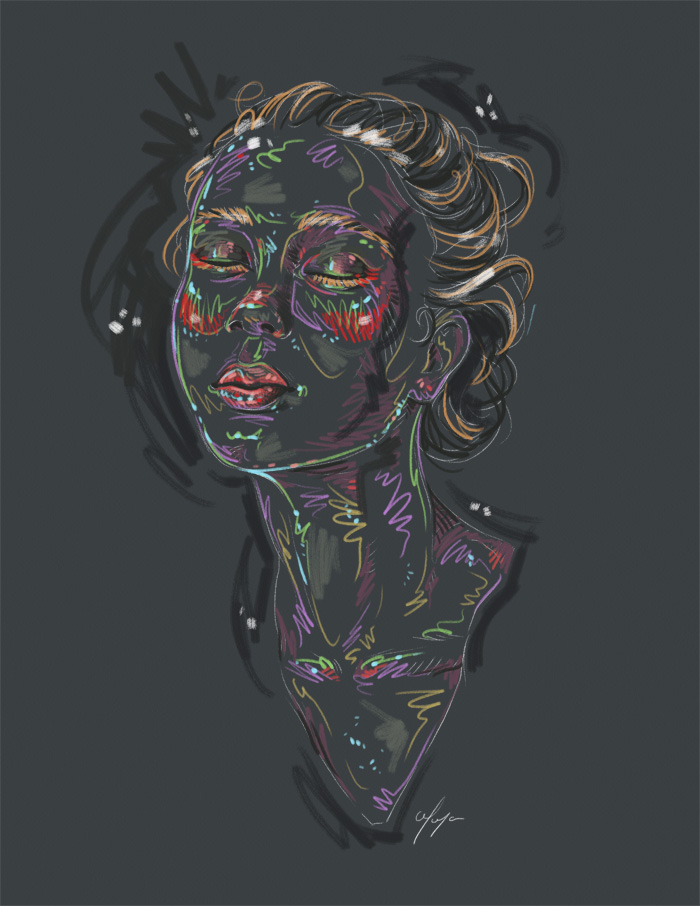 Rainbow Girl 26 by Tina Mailhot-Roberge (vervex)