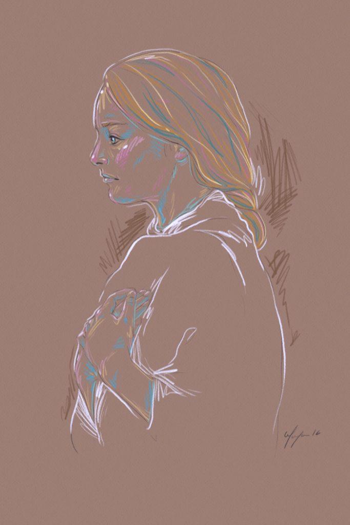 Rainbow Girl 27 by Tina Mailhot-Roberge (vervex)