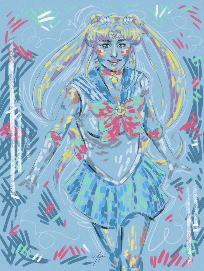 Rainbow Girl 28 by Tina Mailhot-Roberge (vervex)