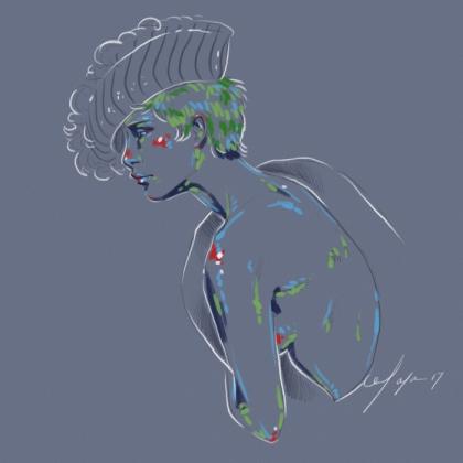 Rainbow Girl 33 by Tina Mailhot-Roberge (vervex)