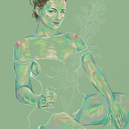 Rainbow Girl 34 by Tina Mailhot-Roberge (vervex)
