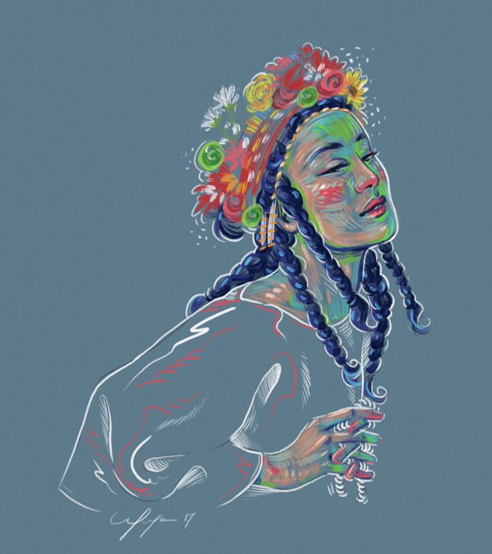 Rainbow Girl 35 by Tina Mailhot-Roberge (vervex)