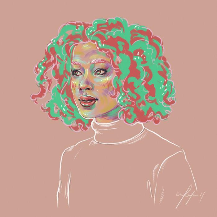 Rainbow Girl 36 by Tina Mailhot-Roberge (vervex)