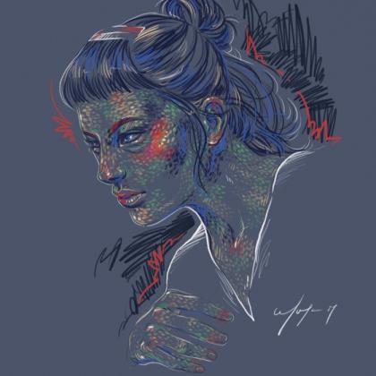 Rainbow Girl 37 by Tina Mailhot-Roberge (vervex)