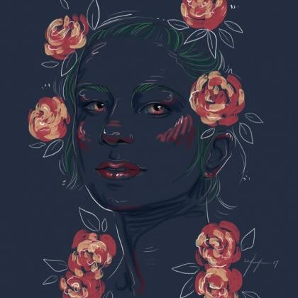 Rainbow Girl 38 by Tina Mailhot-Roberge (vervex)