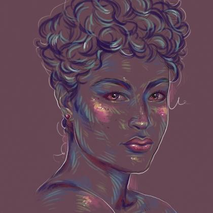 Rainbow Girl 40 by Tina Mailhot-Roberge (vervex)