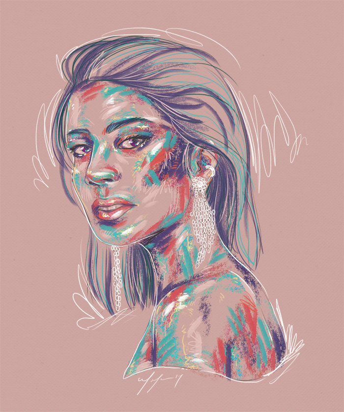 Rainbow Girl 41 by Tina Mailhot-Roberge (vervex)