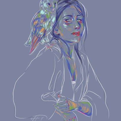 Rainbow Girl 44 by Tina Mailhot-Roberge (vervex)