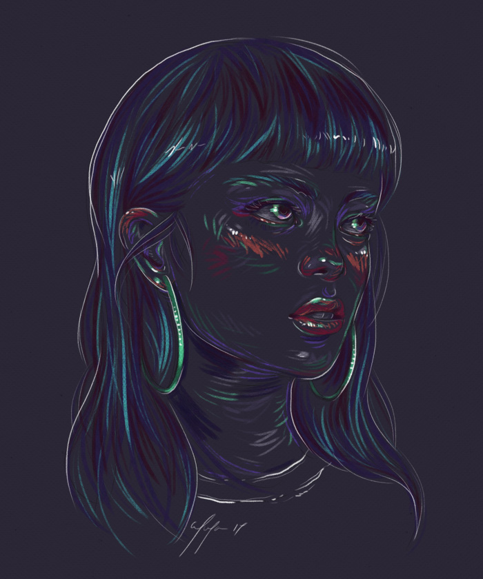 Rainbow Girl 45 by Tina Mailhot-Roberge (vervex)