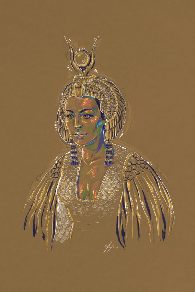 Rainbow Girl 46 by Tina Mailhot-Roberge (vervex)