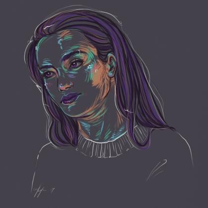 Rainbow Girl 47 by Tina Mailhot-Roberge (vervex)