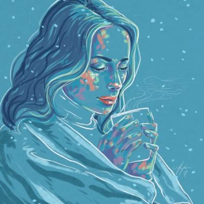 Rainbow Girl 48 by Tina Mailhot-Roberge (vervex)