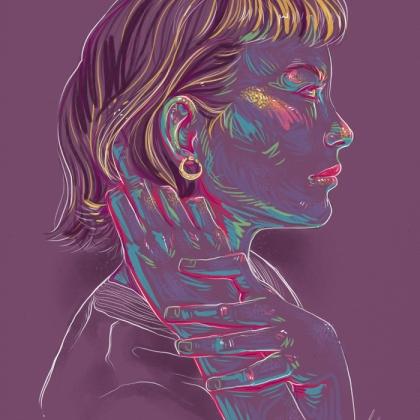 Rainbow Girl 49 by Tina Mailhot-Roberge (vervex)