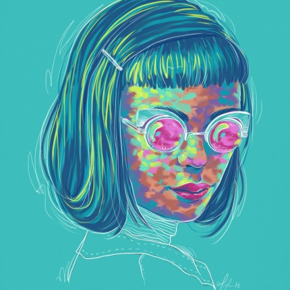 Rainbow Girl 50 by Tina Mailhot-Roberge (vervex)