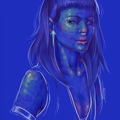 Rainbow Girl 51 by Tina Mailhot-Roberge (vervex)