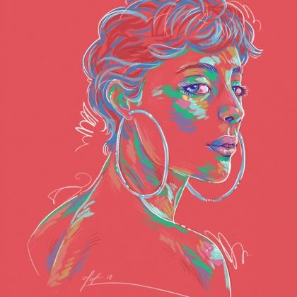 Rainbow Girl 52 by Tina Mailhot-Roberge (vervex)