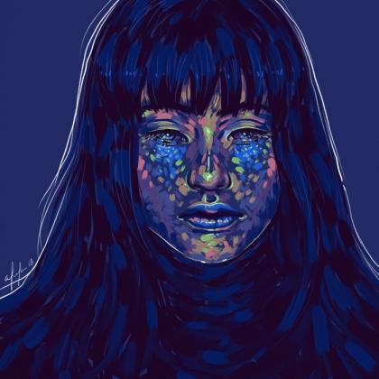 Rainbow Girl 53 by Tina Mailhot-Roberge (vervex)