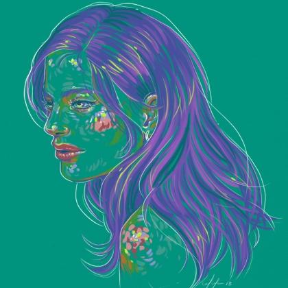 Rainbow Girl 54 by Tina Mailhot-Roberge (vervex)