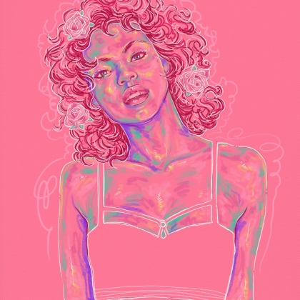 Rainbow Girl 55 by Tina Mailhot-Roberge (vervex)