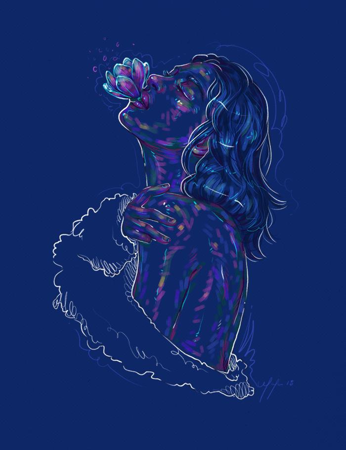 Rainbow Girl 56 by Tina Mailhot-Roberge (vervex)