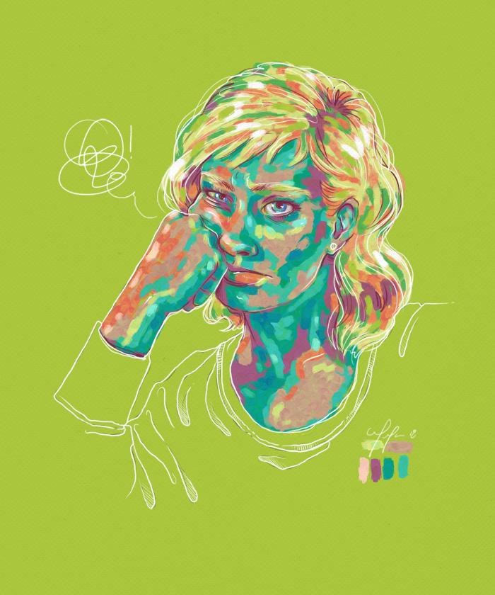 Rainbow Girl 57 by Tina Mailhot-Roberge (vervex)