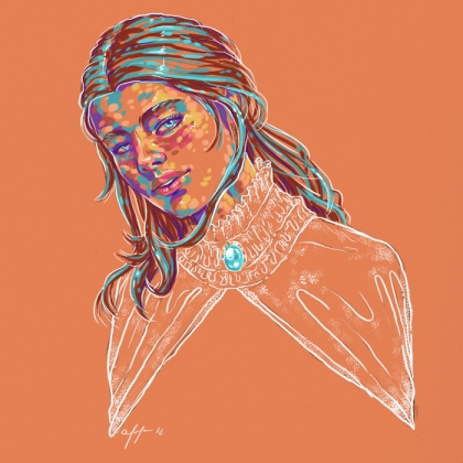 Rainbow Girl 58 by Tina Mailhot-Roberge (vervex)
