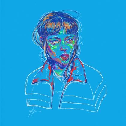 Rainbow Girl 59 by Tina Mailhot-Roberge (vervex)