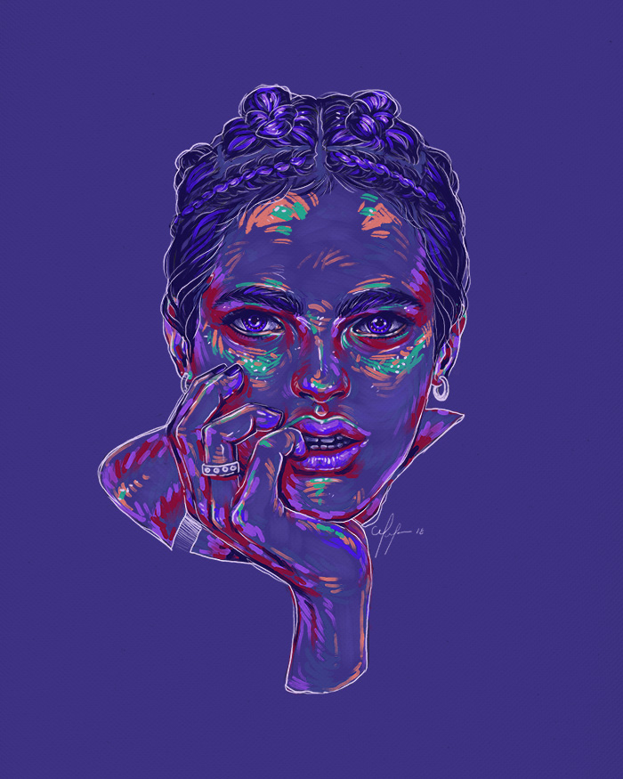 Rainbow Girl 60 by Tina Mailhot-Roberge (vervex)