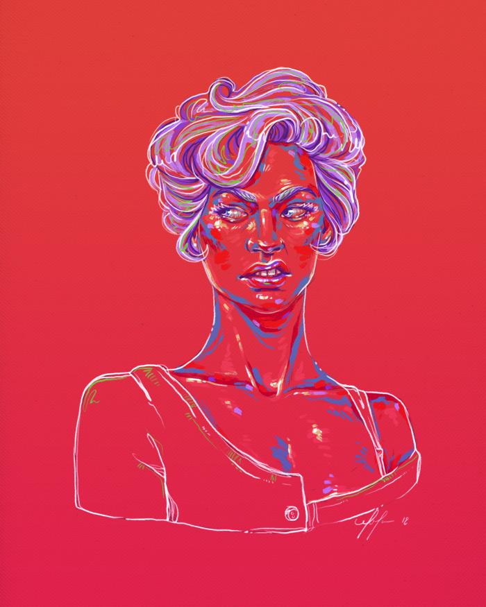 Rainbow Girl 62 by Tina Mailhot-Roberge (vervex)