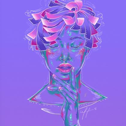 Rainbow Girl 64 by Tina Mailhot-Roberge (vervex)