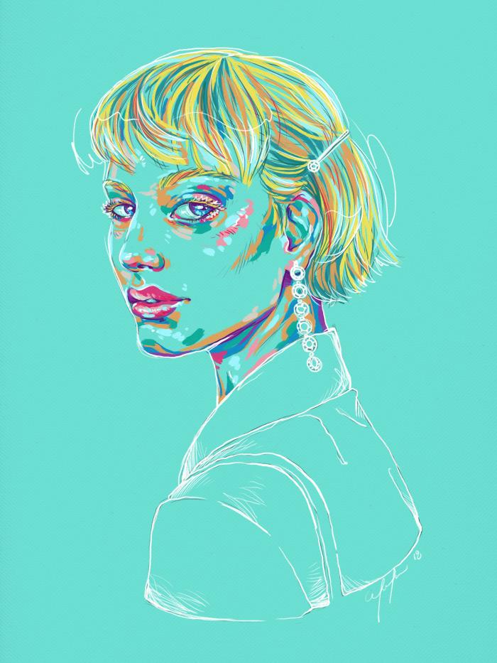 Rainbow Girl 65 by Tina Mailhot-Roberge (vervex)