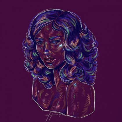 Rainbow Girl 69 by Tina Mailhot-Roberge (vervex)