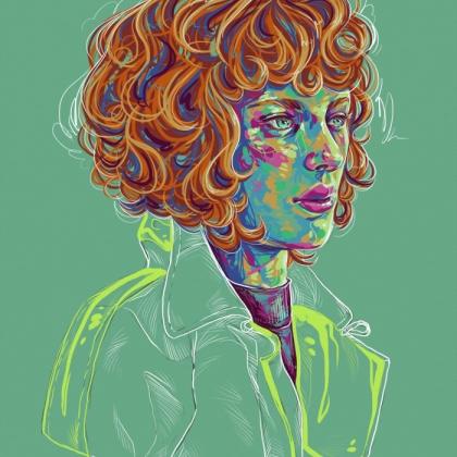 Rainbow Girl 73 by Tina Mailhot-Roberge (vervex)