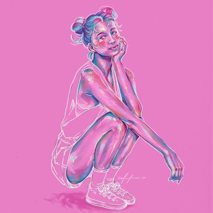 Rainbow Girl 76 by Tina Mailhot-Roberge (vervex)
