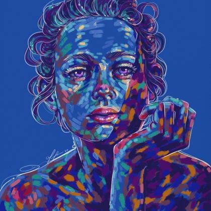 Rainbow Girl 78 by Tina Mailhot-Roberge (vervex)