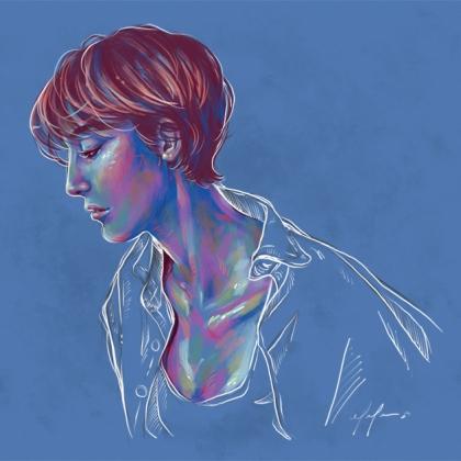Rainbow Girl 80 by Tina Mailhot-Roberge (vervex)